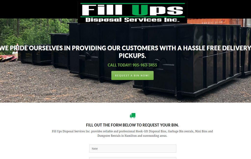 fillups disposal service