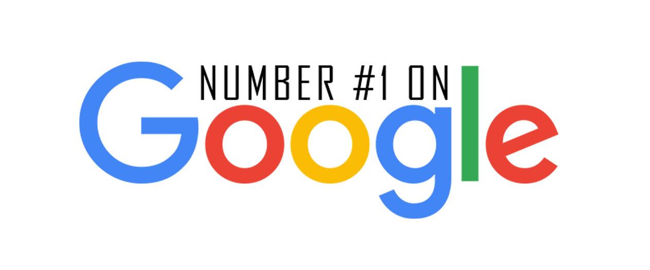 Number 1 on Google